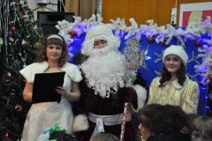 Дед мороз, снегурочка и фея